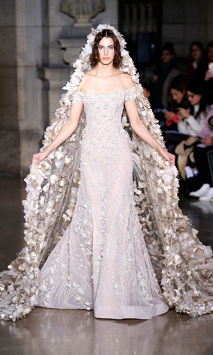 B Georges Hobeika Elaborate Jewelry And Details Took Center Stage