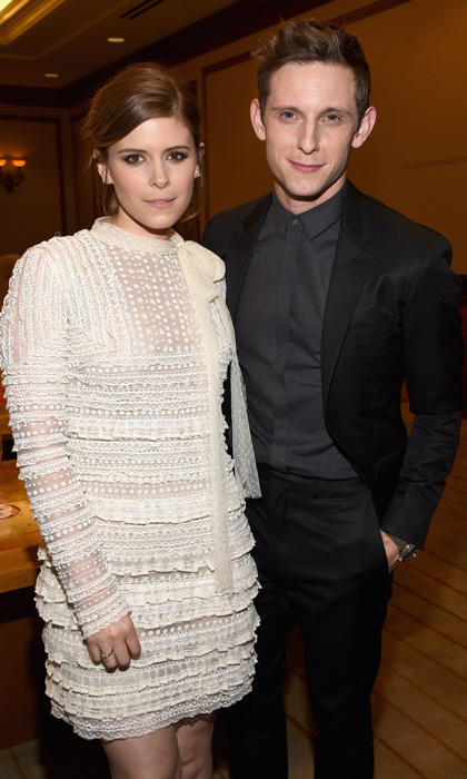 <b>Kate Mara and Jamie Bell</b>