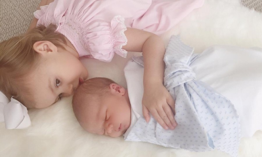 Almost two weeks after his birth, Armie and Elizabeth Hammer have revealed their newborn son's name in an adorable Instagram.