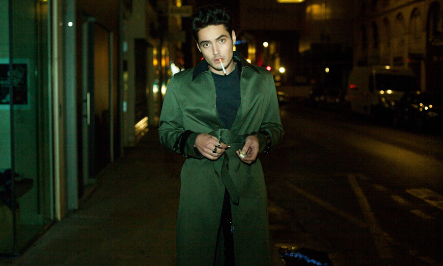 The budding star opened up to VMAN 37 about forging his path in Hollywood.