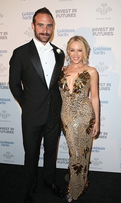 <b>Kylie Minogue and Joshua Sasse</b>