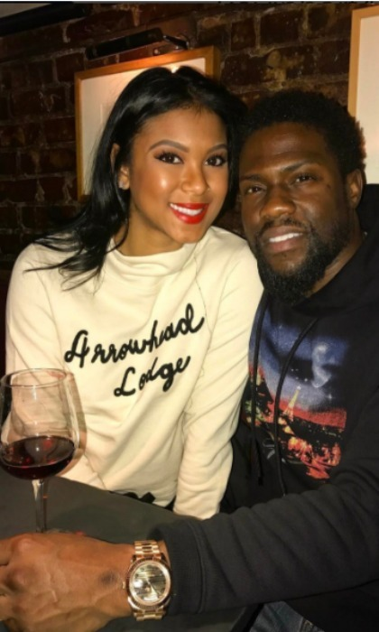 "Kevin Hart had a special message for his beautiful wife and  ""rib."" 