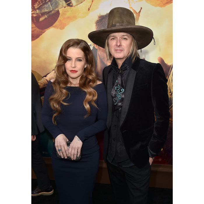 <b>Lisa Marie Presley and Michael Lockwood</b>