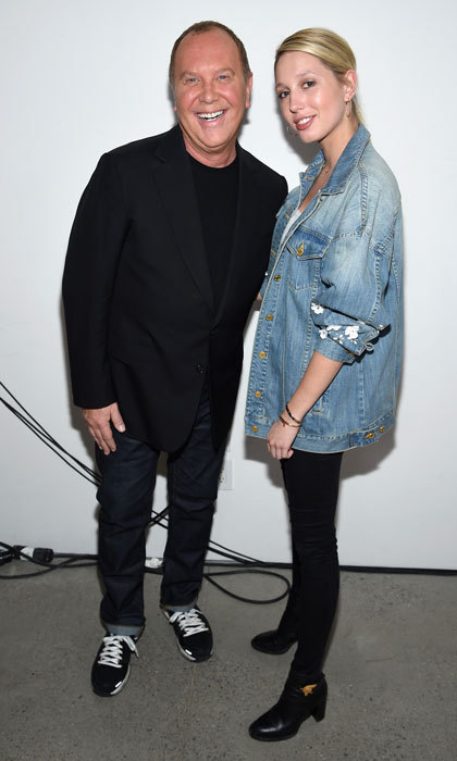 Princess Maria-Olympia and Michael Kors made a fashionable pair at the designer's fall collection 2017 runway show held at Spring Studios in New York City. 