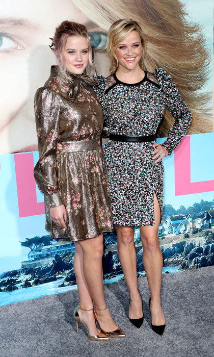 Reese Witherspoon looked more like Ava Phillippe's sister than mother. The actress was accompanied to the 2017 premiere of her new HBO show <i>Big Little Lies</i> by her stylish teenage daughter. 