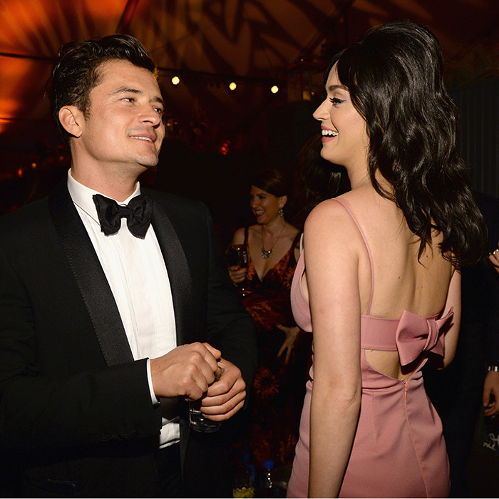 <b>Katy Perry and Orlando Bloom</B>