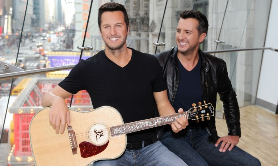 March 1: Seeing double! Will the real Luke Bryan please stand up? Madame Tussauds unveiled the singer's new Nashville wax figure in Times Square. After receiving the honor, Luke (sans-wax) headlined Madison Square Garden.
