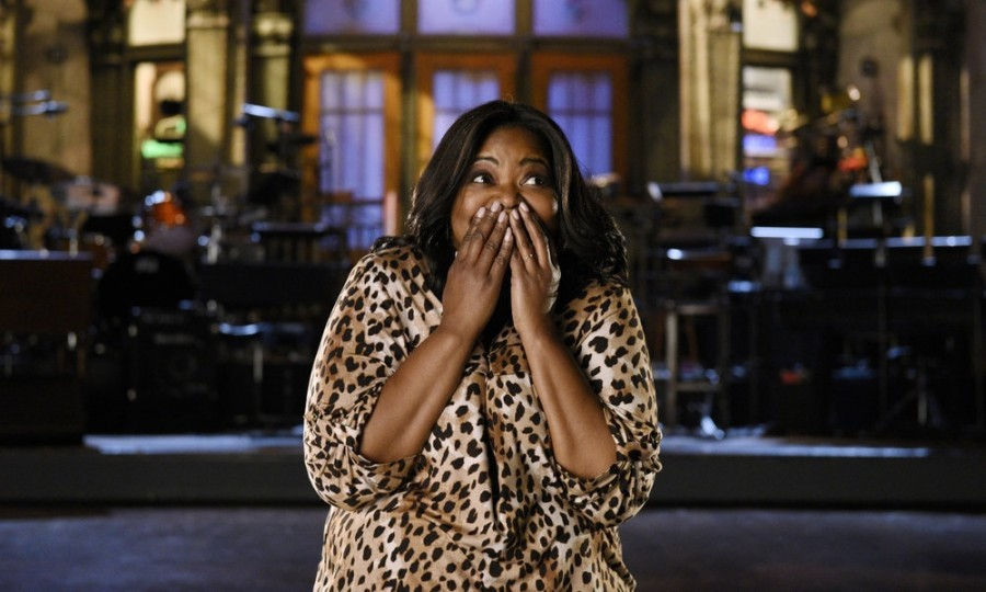 "March 4: Octavia Spencer nailed her hosting gig on <i>Saturday Night Live</i>. The 46-year-old <i>Hidden Figures</i> star poked fun at the 2017 Academy Awards ceremony in her monologue, saying: ""There were three black movies at the Oscars this year — that's a lot for America."" 