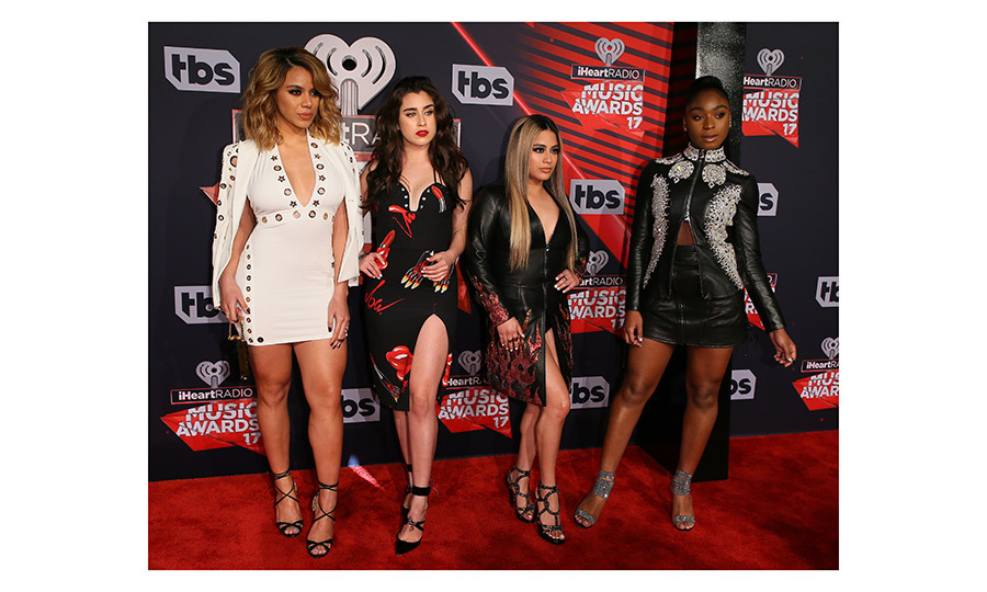 March 5: Fifth Harmony rocked the scene as a foursome at  the 2017 iHeartRadio Music Awards – which was broadcast live on Turner's TBS, TNT, and truTV in – Inglewood, California.