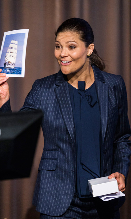 "<a href=""https://us.hellomagazine.com/tags/1/crown-princess-victoria/""><strong>Crown Princess Victoria</strong></a> made her first official appearance of the year attending the inauguration of the 2017 Baltic Sea Future Congress held at the Stockholm International Fairs & Congress Centre. 