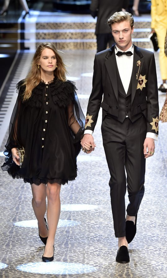 <b>Lucky Blue Smith and Stormi Bree</B>