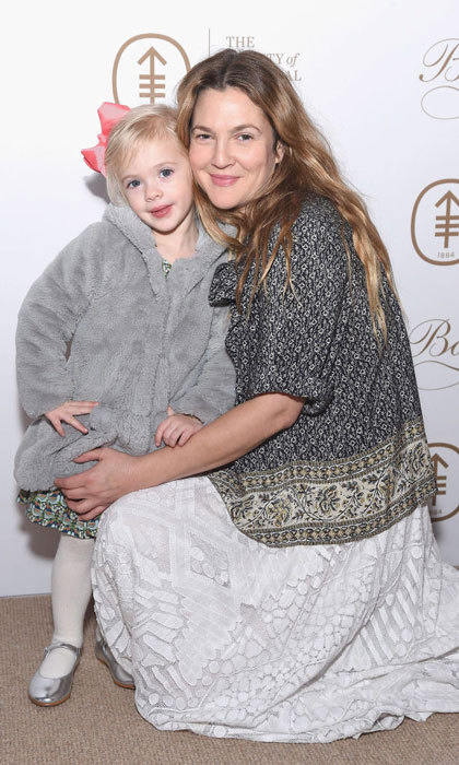 Drew Barrymore brought her youngest daughter Frankie as her date to the 2017 Society Of MSK Bunny Hop in NYC.