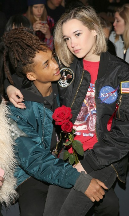 <b>Jaden Smith and Sarah Snyder</b> 