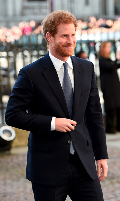Just back from Jamaica with girlfriend Meghan Markle, Prince Harry attended the annual Commonwealth Day service and reception in London. 