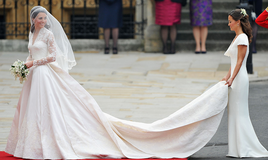 <B>THE DUCHESS OF CAMBRIDGE AND PIPPA MIDDLETON</B>