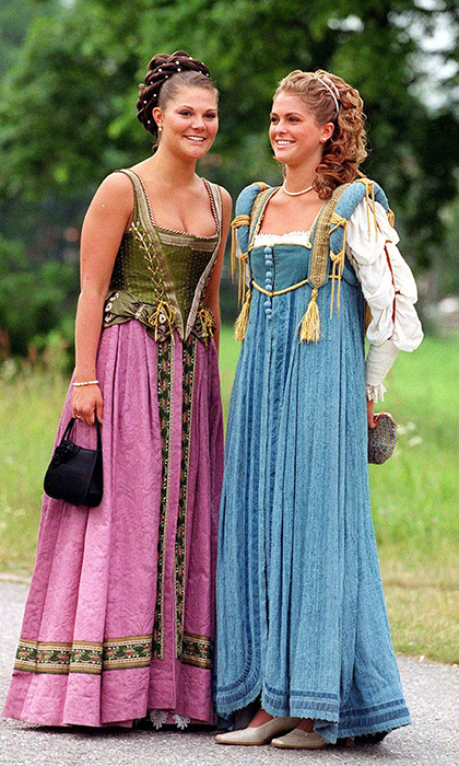 Now, though, the hard times are well in the past, with both royal ladies happily married. In 2013 Madeleine wed American-British financier Chris O'Neill, whom she met while living in New York. And motherhood has only brought her and Victoria closer, despite the fact that she is now based in London due to Chris' work.