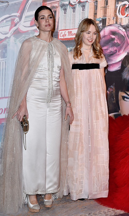 <b>CHARLOTTE CASIRAGHI AND PRINCESS ALEXANDRA OF HANOVER</B>