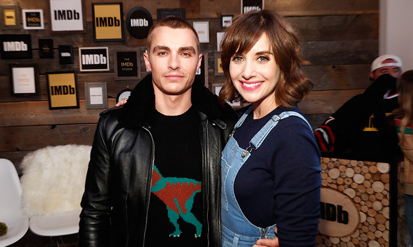 <b>Dave Franco and Alison Brie</B>