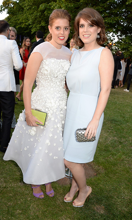 <b>PRINCESS BEATRICE AND PRINCESS EUGENIE</B>