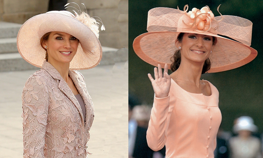 <b>Queen Letizia of Spain and Telma Ortiz</B>