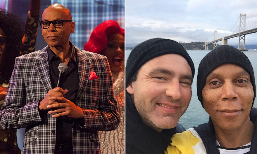 <B>RuPaul and Georges LeBar</B>