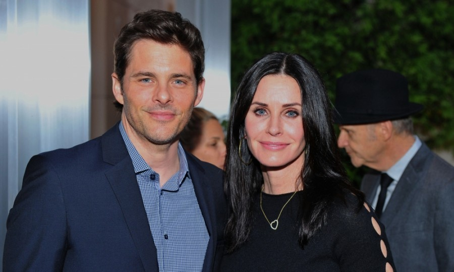 March 13: James Marsden and Courteney Cox were among attendees at the UCLA Institute of the Environment and Sustainability Annual Gala Honoring Paul G. Allen and Toyota in Beverly Hills. Courteney was on the committee for the event which raised over $1 million for the institute. Other guests included: Christina Hendricks, Frieda Pinto, and Moby.