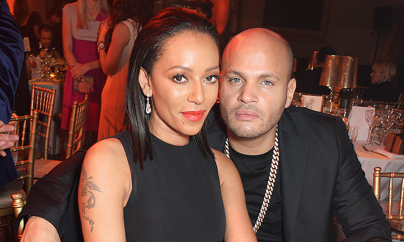 <b>Mel B and Stephen Belafonte</B>
