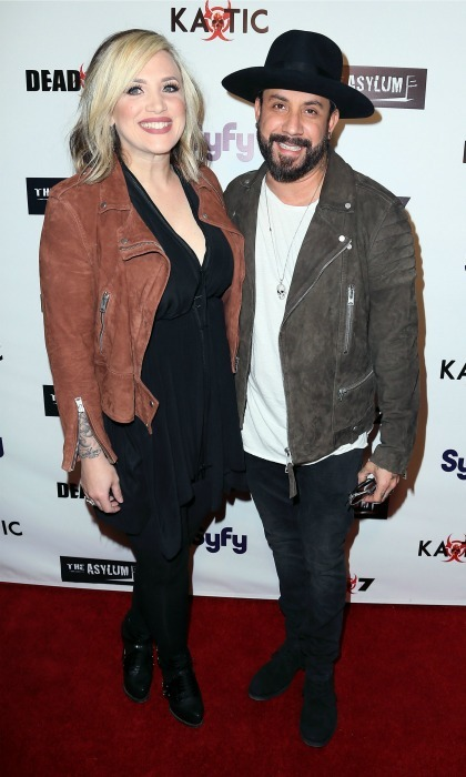 Daddy-of-two! Backstreet Boys member A.J. McLean and his wife DeAnna are proud parents of two little girls. The <i>Quit Playing Games with My Heart</i> singer's rep confirmed to People magazine that the couple's second daughter was born in Los Angeles on March 19 weighing in at 8lbs, 3 oz. 