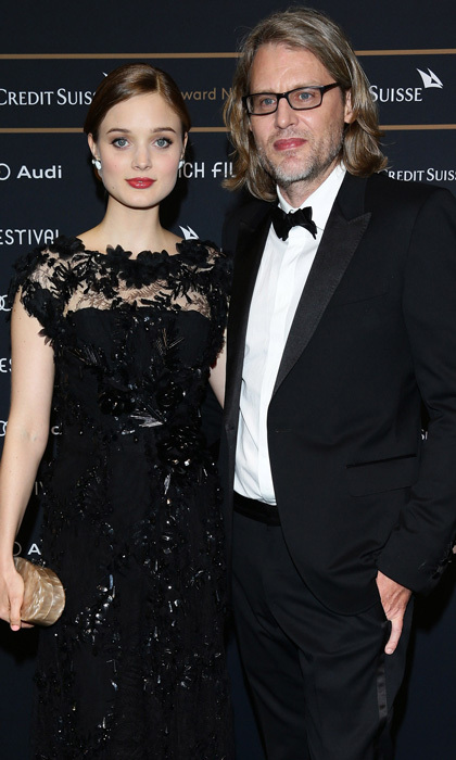 <b>Bella Heathcote and Andrew Dominik</b>