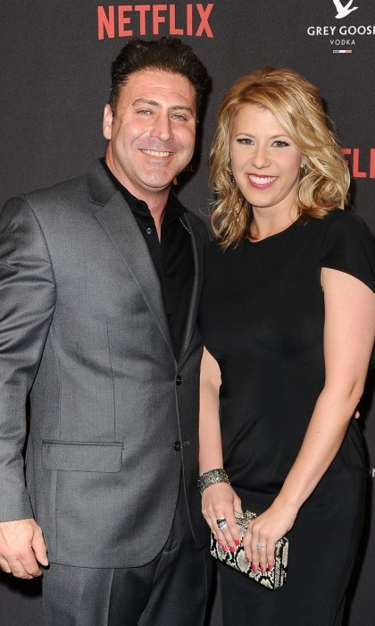 <b>Jodie Sweetin and Justin Hodak</b>