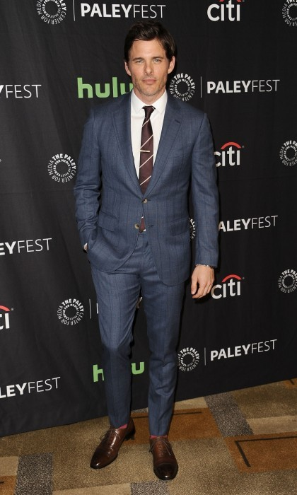 March 25: James Marsden looked suave at the <i>Westworld</i> event at the Paley Center for Media's 34th annual PaleyFest at the Dolby Theatre in Hollywood, California. 