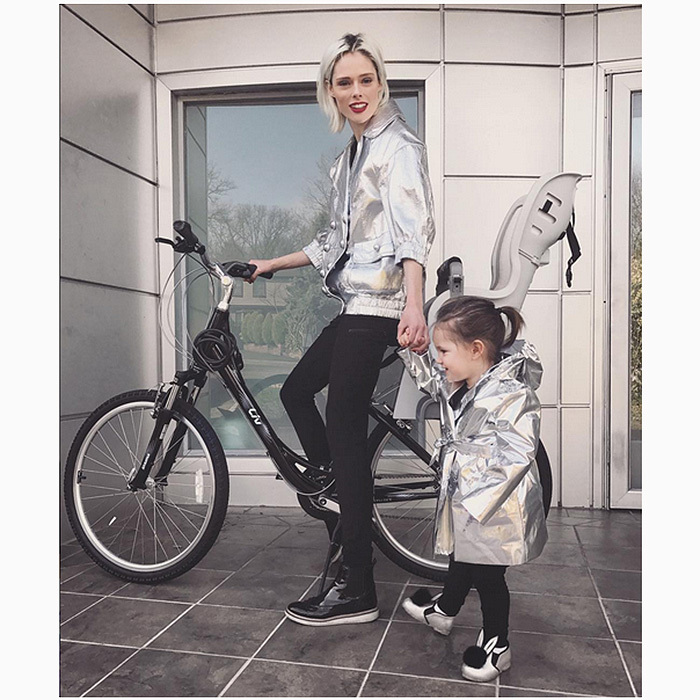 "<b><a href=""https://us.hellomagazine.com/tags/1/coco-rocha/""><strong>Coco Rocha</strong></a> and Ioni</b>