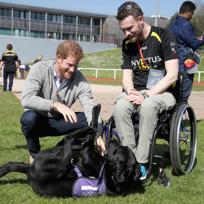 "Call it puppy and <a href=""https://us.hellomagazine.com/tags/1/prince-harry/""><strong>Prince Harry</strong></a> love, but when it comes to the British royal and his furry mates, we're having a hard time determining who is cuter! Click through for a look at Harry and his canine pals over the years.