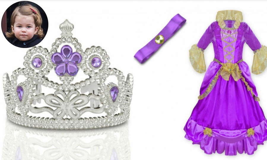 Princess Charlotte is a mini inspiration. Ahead of her birthday on May 2, Kensington Palace's gift shop is selling Princess Charlotte-inspired merchandise. The royal palace's store is stocked with pink and purple toys in addition to a range of products including lip gloss, tiaras, costumes, pendants, and cutlery. 