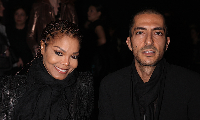 <b>Janet Jackson and Wissam Al Mana</B>