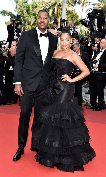 <b>Carmelo and La La Anthony</b>