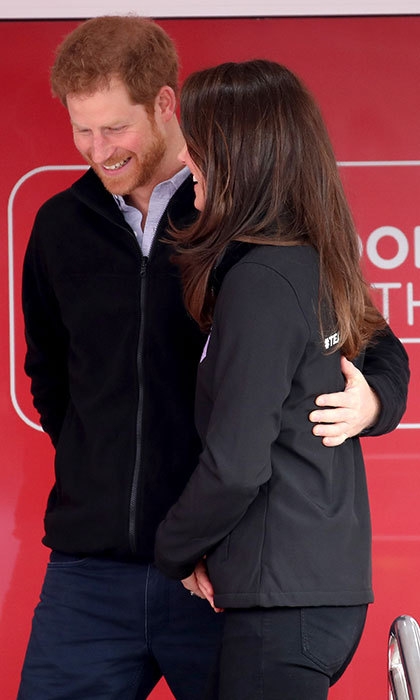 Harry and Kate showed their special siblings-in-law bond during the event. Prince Harry is patron of the London Marathon Charitable Trust, while the Duchess was attending her first Marathon in a royal capacity.