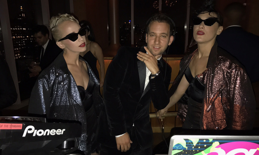 Hooked on Dolls (Margot — left — and Mia Moretti — right), along with DJ Equal had A-list guests dancing at Katy Perry's Met Gala after-party held at the Standard's Boom Boom Room until the early morning.