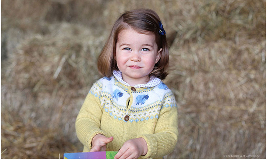 "The month kicked off with some serious cuteness as Kensington Palace released a new picture of Princess Charlotte in honor of the toddler's May 2 birthday. ""The Duke and Duchess are delighted to share a new photograph of Princess Charlotte to mark her second birthday tomorrow,"" the palace announced. ""TRH would like to thank everyone for the lovely messages they have received & hope that everyone enjoys this photograph as much as they do."" 