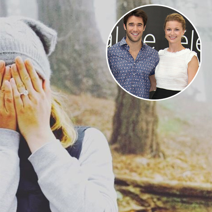 <b>Emily VanCamp and Josh Bowman</b>