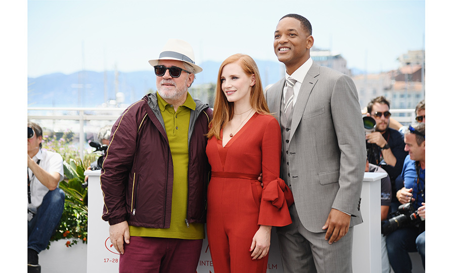 Here's one trio to watch during the Cannes Film Festival! The President of the Jury, Oscar-winning director Pedro Almodovar, and jury members Will Smith and Jessica Chastain.