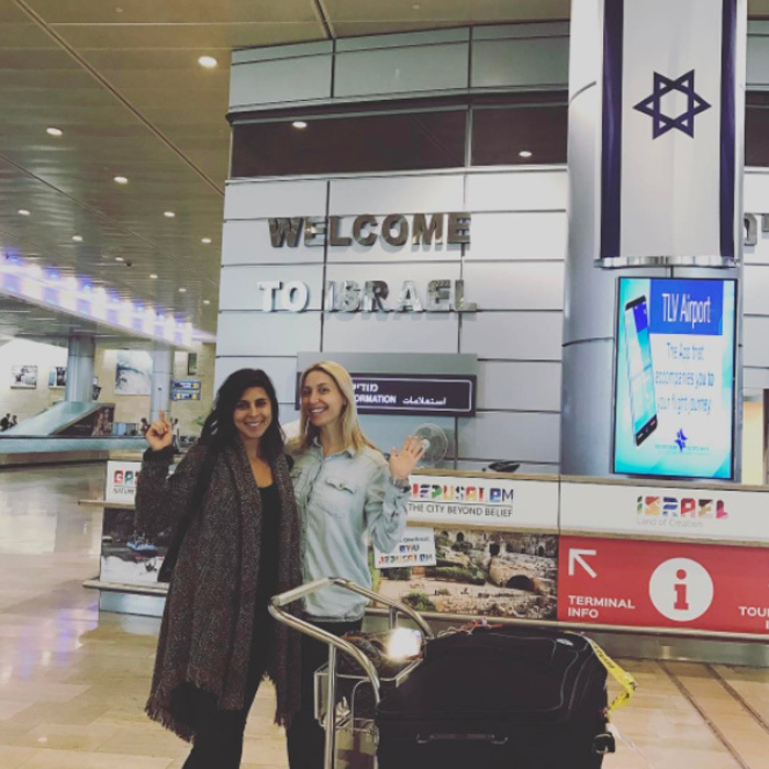 "On May 6, the mom-of-one left husband Cutter Dykstra and their son Beau for the Holy Land. ""This was a trip to remember, and I'm so glad I did it,"" the actress, who turned 36 a couple days after their getaway, tells HELLO!. ""A little time away never hurts and it's good to get that time, but I think i'm good for a while now.""