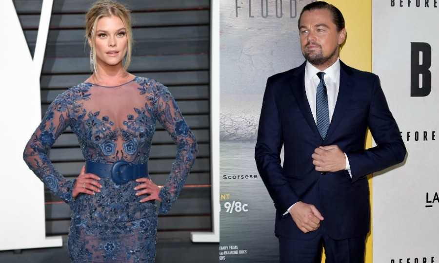 <b>Nina Agdal and Leonardo DiCaprio</b>