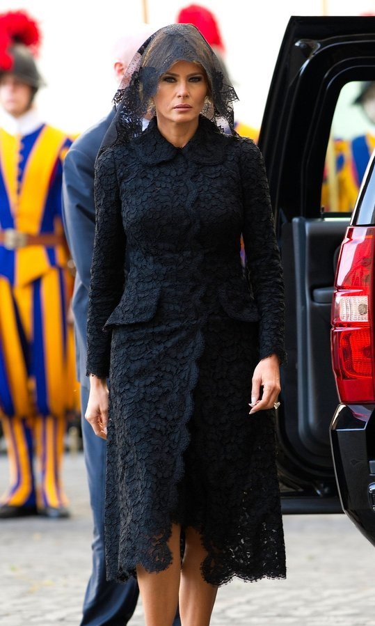"First Lady Melania Trump clearly has a well-defined sense of style. ""I like to dress nicely. I always say that it's easy to put on a nice dress,"" President Trump's wife told <b>HELLO!</b> back in 2011. But, she admitted: ""Sometimes, you're in a hurry and you put on the t-shirt and slacks and beautiful jewelry and drop off your child at school. You don't have time to do hair and make-up and get ready completely."" 