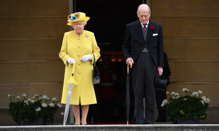 The May 23 Buckingham Palace event had started with hosts Queen Elizabeth and Prince Philip leading a minute's silence in honor of the victims of the terror attack in Manchester, England.