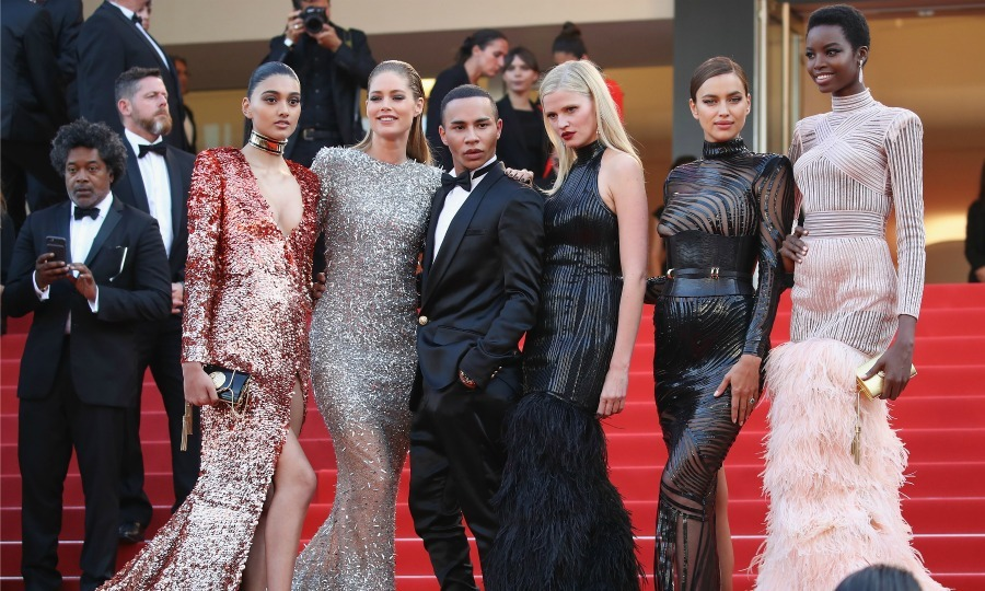 Model behavior! Neelam Gill, Doutzen Kroes, Olivier Rousteing, Lara Stone, Irina Shayk and Maria Borges stole the show during <i>The Beguiled</i> screening.