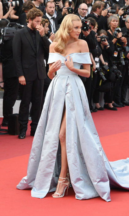 Elsa Hosk had her Cinderella moment during <i>The Beguiled</i> premiere in Cannes.