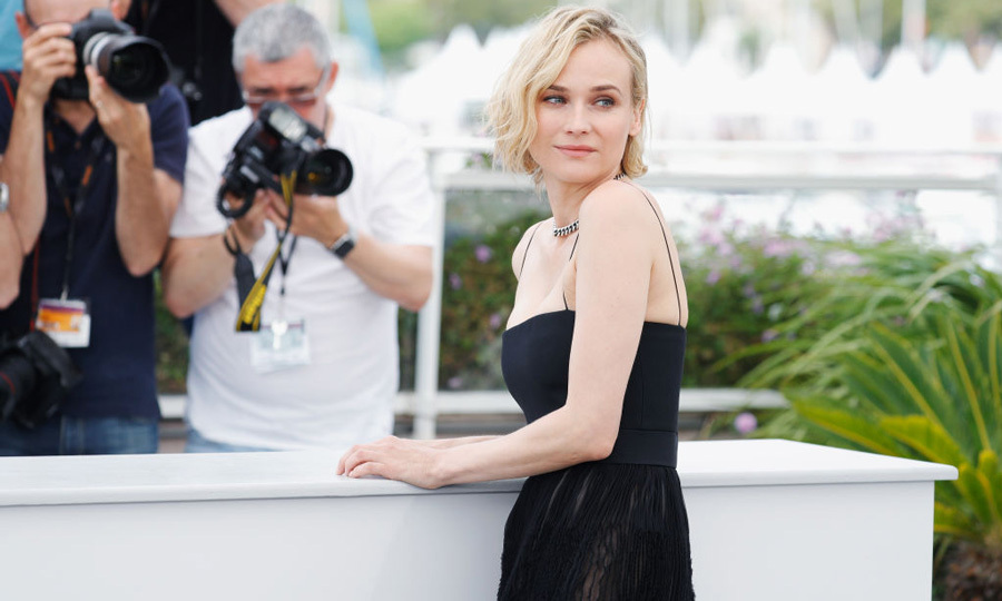 Diane Kruger wore BOSS to her <i>In the Fade</i> photocall.