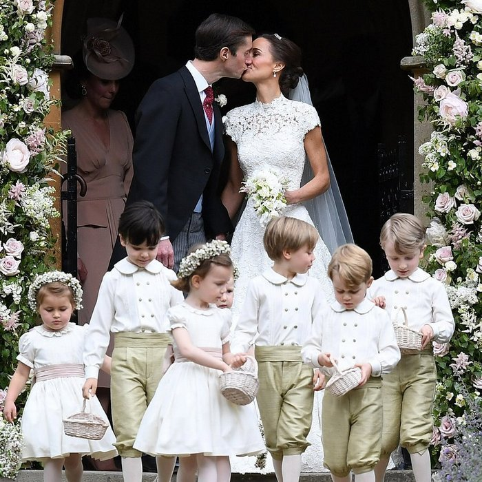 <b>Pippa Middleton and James Matthews</b