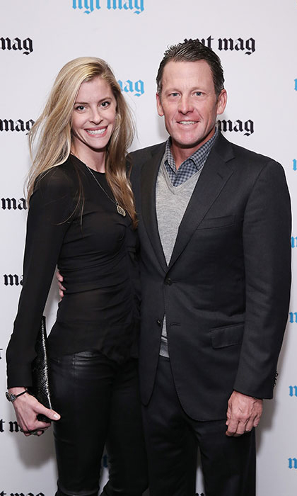 <b>Lance Armstrong and Anna Hansen</b>